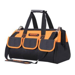กระเป๋าใส่เครื่องมือช่าง GREENER ขนาด 19 นิ้ว ผิวกันหยดน้ำ รับน้ำหนักได้ดี มีสายหิ้วสะพาย